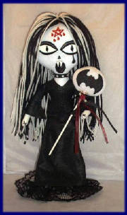 Fun And Creepy Gothic Art Dolls